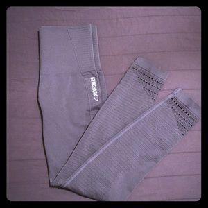 Grey gymshark seamless leggings